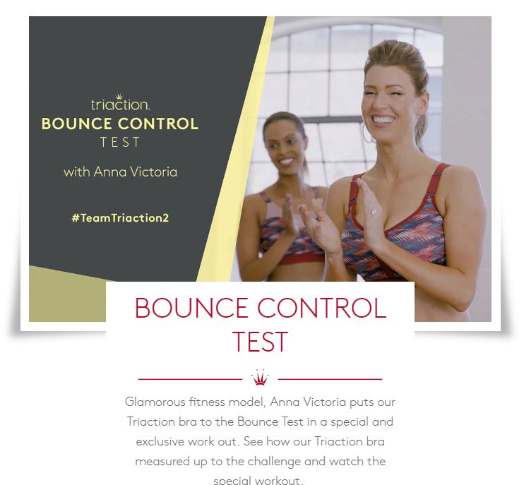 TOGETHER WE TRIUMPH Bounce Control Sports Bra