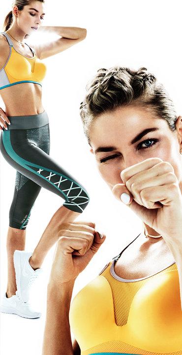 TRIACTION TRIPLE Sports Cardio Bra Legging