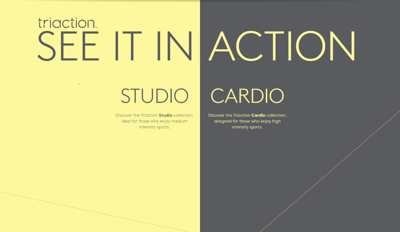 SEE IT IN ACTION Cardio Triaction